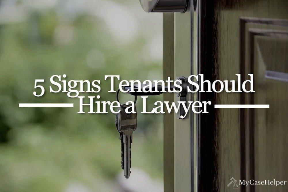free tenant lawyer advice
