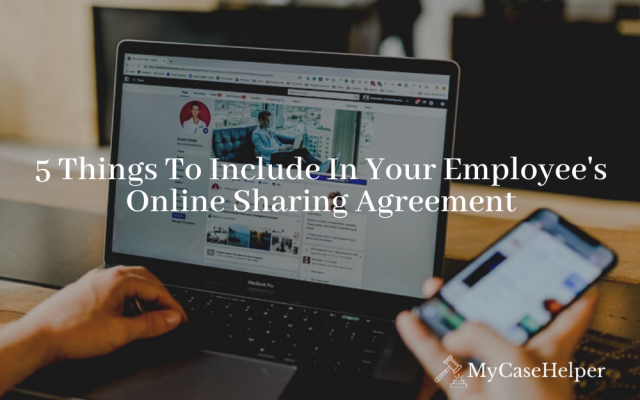 5 Things to Include in Your Employee's Social Media Agreement