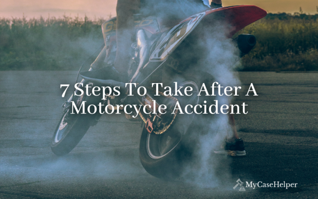 7 Steps To Take After A Motorcycle Accident
