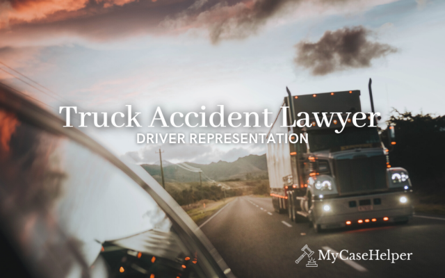 Truck Accident Lawyer | Driver Representation