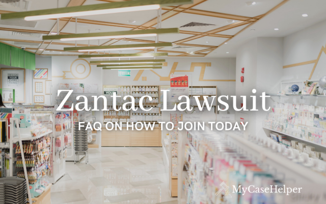 Zantac Lawsuit: FAQ On How To Join