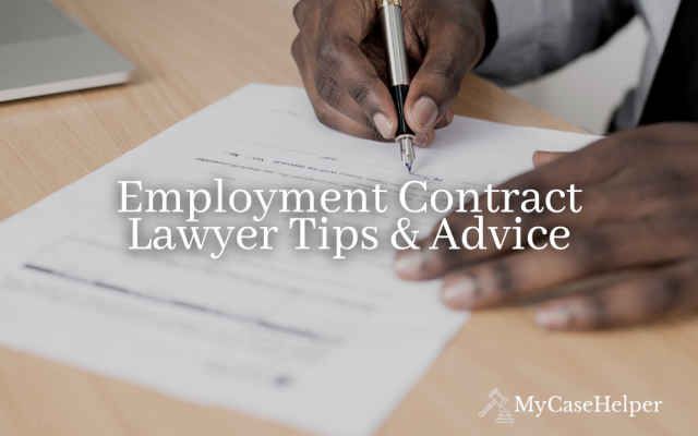 Employment Contract Lawyer Tips & Advice