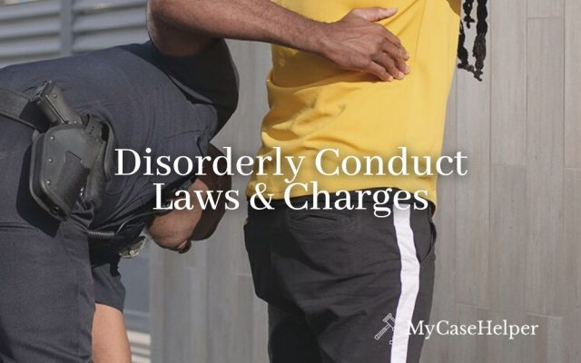 Disorderly Conduct Laws & Charges